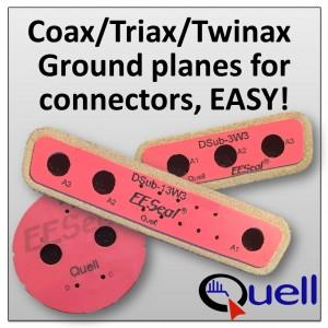 EESeals for an internal grounding plane