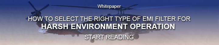 Whitepaper | How to Select the Right Type of EMI Filter for Harsh Environment Operation | Start Reading